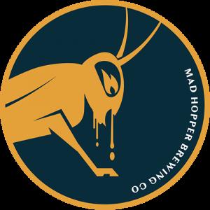 First Night Kveik Pale Ale beer label, Mad Hopper Brewing Co., Helsinki, Finland