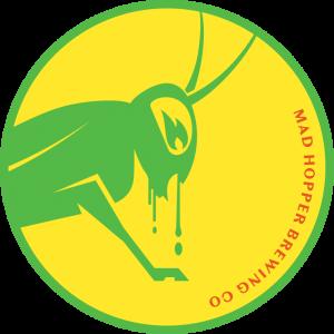 Mango Tango New England IPA beer label, Mad Hopper Brewing Co., Helsinki, Finland
