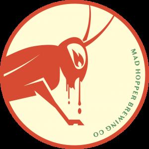 Scoop Me Up beer label, Mad Hopper Brewing Co., Helsinki, Finland