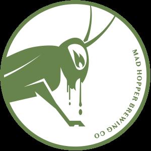 Freedom NEPA beer label, Mad Hopper Brewing Co., Helsinki, Finland