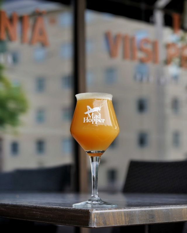 Now available also on tap: 🍰 Yummy Frisky 🍰 Fruited NEIPA 6,0% ABV   Do you love tropical fruit packed NEIPA´s? If you do, Yummy Frisky is a perfect choice for you. 😄  Yummy Frisky is a fruited New England Style IPA just bursting with flavor. Brewed with Pilsner and Munich malts, wheat and oat. Hopped with a trio of Magnum, Mandarina Bavaria and New Zealand Rakau. This tasty brew is uplifted with a bagful of tropical goodies: Pineapple and mango and a pinch of vanilla. We also added a bit of lactose to give a bit more body into this tasty adventure. Yummy Frisky presents beautiful tropical, citrusy and hoppy aromas. This liquid dessert is just Yummy!  Yummy Frisky is available now on tap at @viisipennia   Taste the Madness! 😀  #tastethemadness #craftbeer #madhopperhelsinki #madhopperbrewingco #instabeer #beerstagram #neipa #yummyfrisky #helsinki