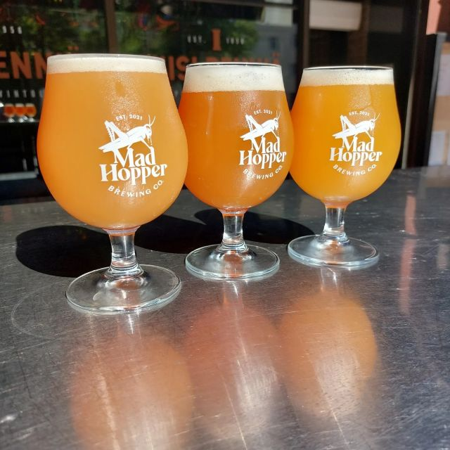 💢New beer alert💢 Let's triple the trouble!  SCOOP ME UP 8%: Do you fancy a scoop of... Fruited Double NEIPA? Medium-bodied, sweet and hoppy Fruited Double Neipa with moderate bitterness is a work of drinkable art.  Hops: Magnum, Mosaic, Styrian Wolf and El Dorado. Special: Cranberry, Vanilla and Agave Syrup  NIGHTFALL 6%: DDH fruited pale ale is a medium-bodied beer with lots of fruit notes derived from hops. The fine aromas of tropical fruit builds the perfect atmosphere for a late summer evening under the stars. Just don't ruin the mood by having too many!  Hops: Cascade, Magnun, Sultana and Huell Melon Special: Passion Fruit  ICE BREAKER 5,5%: This session IPA, doesn't really have anything to do with the 90's rap star Vanilla Ice, but it is easy to drink as the hoppy concoction balances maltiness with hoppy bitterness to bring you a refreshing brew. On a slightly awkward first date this fresh drink can work to... well; break the ice.  Hops: Magnun, Cascade, Simcoe, Mosaic and El Dorado  Cheers! 🍻