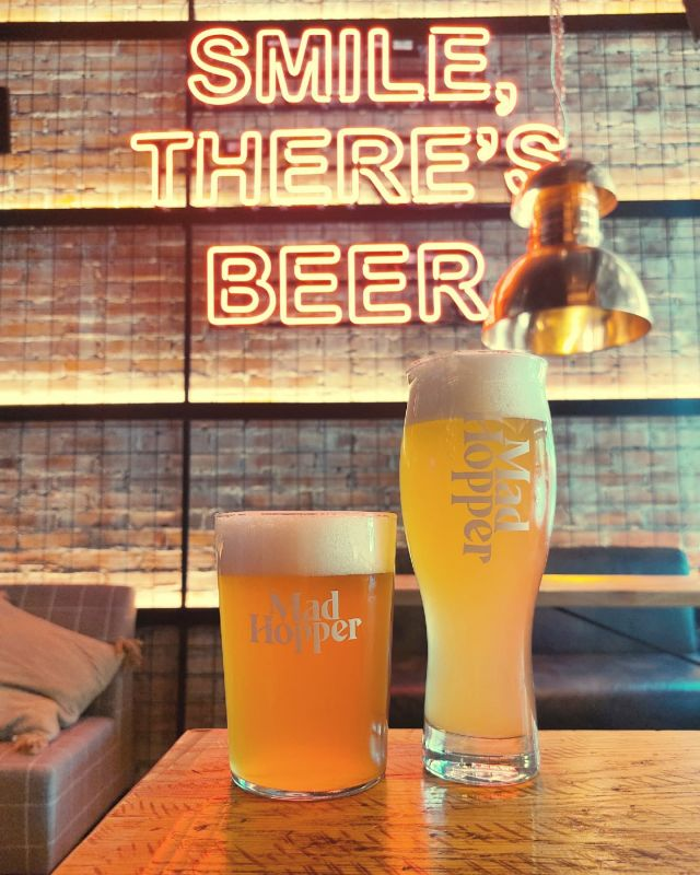 """🎶 Guess who's back? Back again. Pils is back. Tell a friend 🎶  Poker Face Pils is back, with another familiar beer. Our beloved Hefeweizen!  🇨🇿 POKER FACE, PILS 5,0%: 🇨🇿  Ahoj! Brewed with Pilsner, Caramel and Vienna malts and Hopped with a combination of Saaz, Magnum and Huell Melon. This pils offers the loving distinctive Pilsner malt aroma and dankness of Saaz hops!  🇩🇪 TIPSY SUMMER, HEFEWEIZEN 5,0% 🇩🇪  Lecker! Brewed with wheat and Pilsner and Munich malts. Pleasantly hopped with German Magnum and Huell Melon. This lovely wheat beer is hazy and straw like all the good things. Tipsy Summer brings out marvelous aromas of cloves and of course bananas!  🎶 """"These look like, beer to me"""" So everybody, just follow me 'Cause we need a little, controversy 'Cause it feels so empty, without beer 🎶  Cheers y'all! 🍻🍻🍻"""