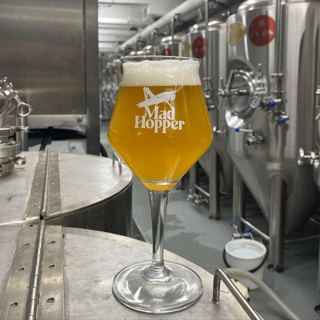 💢New beer alert!💢  MYSTIC VALE GOSE 5,%💯  Take a trip to the Mystic Vale, where fruit is always abundant. This 5% sour ale pushes the limit of fruitiness with a combo of passion fruit, pineapple and mandarin. The tartness of the fruit is balanced by Philly Sour yeast and a pinch of sea salt to round out the profile. And did we mention there is also 17 kg of cookies🍪😱 in this mad brew?! Come and grap pint 🍺from @viisipennia.  Cheers!🍻